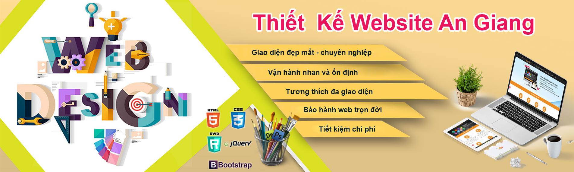 Thiết kế web an giang