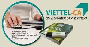 Chữ ký số Viettel CA